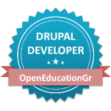 Drupal Developer Badge