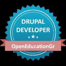 Drupal Developer Badge